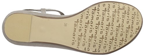 Tamaris 28101, Salomés femme Beige (taupe 341)