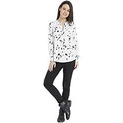 ONLY Women's Body Blouse Shirt (1809232002_Cloud Dancer_Medium)