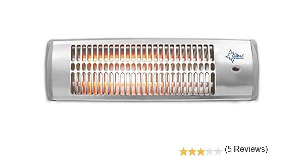 ~19 m/² Pour des pi/èces jusqu/'/à 45 m/³ , appareil /à fixer au mur, 2 vitesses de chauffage, max. 1500/W SUNTEC Chauffage radiant Heat Ray 1500
