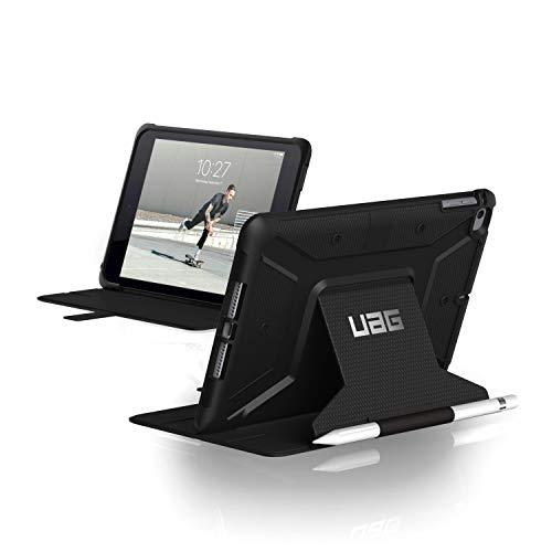Urban Armor Gear Metropolis para Apple iPad Mini 5 (2019) / iPad Mini 4 Funda con estándar Militar Estadounidense [Soporte del lápiz táctil] - negro