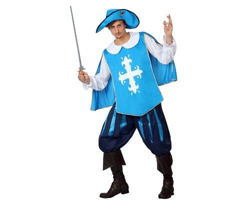 ier Kostüm, Größe XL, hellblau (Drei Musketiere Kostüme Für Kinder)