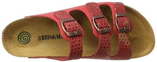 Dr. Brinkmann 701088, Mules Femme Rot (Rot)