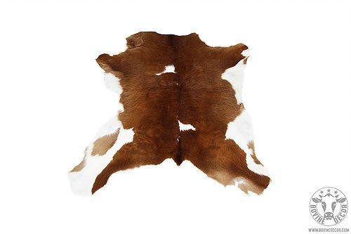 Véritable Peau de vache (Import Amérique du Sud, Cuir de vache, Tricolore, Calfskin