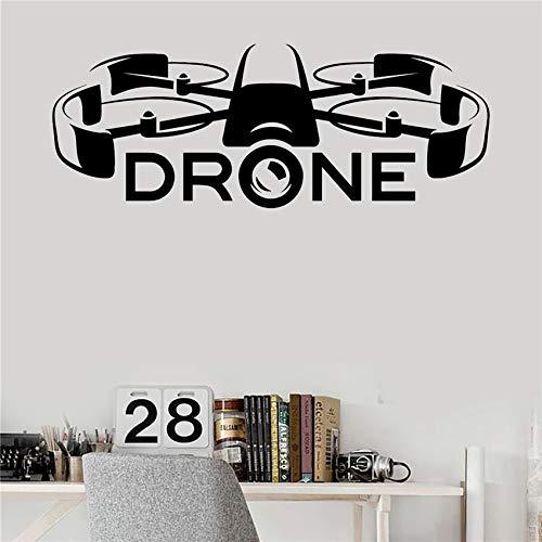 hne Racing UAV Neueste Technologien Aufkleber Kunstdekor Wohnkultur Wanddekor Wohnzimmer Wandaufkleber 58 X 153 CM ()