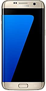 Samsung Galaxy S7 Edge 32GB UK SIM-Free Smartphone - Gold - Certified Refurbished