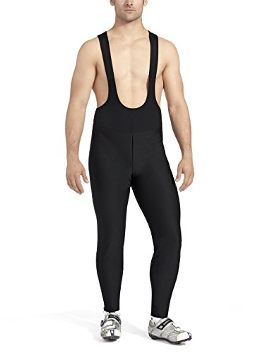 Gonso Herren Thermo-trägerhose Yokohama, black, L, 42500 (Cycling Tight Softshell)
