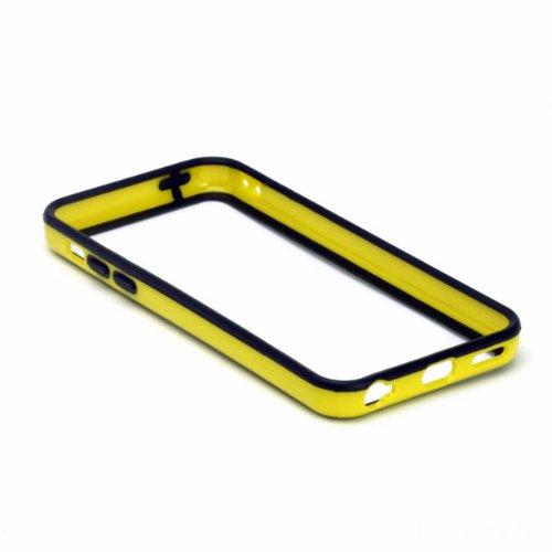 real-di-qualita-per-iphone-5c-in-tpu-con-cornice-paraurti-hybrid-custodia-in-silicone-colore-nero-gi