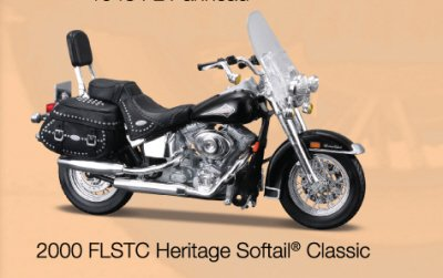harley-davidson-heritage-softail-classic-flstc-2000-in-black-118-scale-diecast-model-motorbike