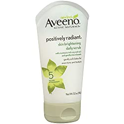 Aveeno Positively Radiant Skin Brightening Daily Scrub- 5 Oz