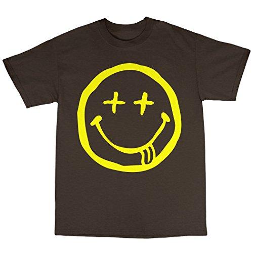 Evil Acid House T-Shirt 100% Baumwolle Zartbitter-Schokolade