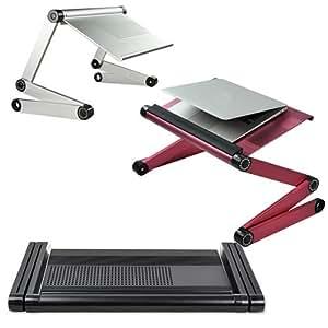 Jazooli supporto per scrivania da ufficio vassoio per letto divano pieghevole e regolabile - Vassoio da letto amazon ...