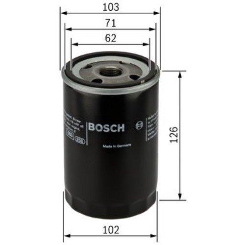 Preisvergleich Produktbild Bosch 986452042 Ölfilter