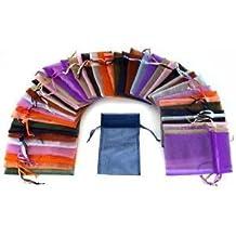 MBox 2,8x 3,6cm cordón bolsas de Organza bolsa de joyería