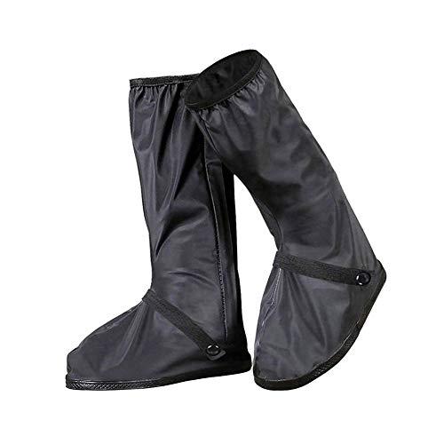 WESEEDOO Schuhe Überziehstiefel Regenstiefel Regenüberzieher Rutschfeste Überschuhe mit Reißverschluss Anwendbar für Reisemedizin Laufen Laufen (M)