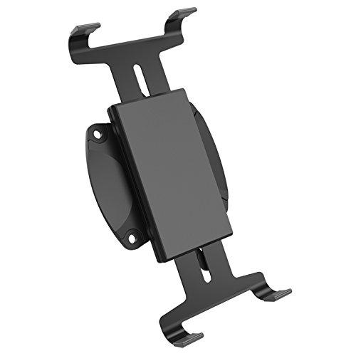 HFTEK® Tablet iPad Halterung Halter Clip Mount Adapter für iPad und andere Tablets von 5.7 - 10.5 Zoll mit VESA 75 (HF69A)