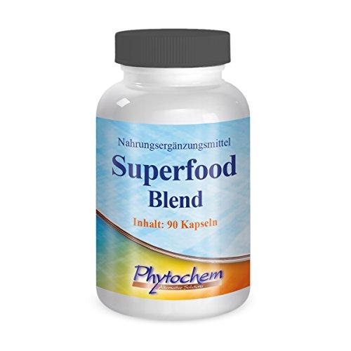 Phytochem Superfood Kapseln Premium Qualität, 1er Pack (1 x 54 g) (Cranberry-und Traubenkernextrakt)