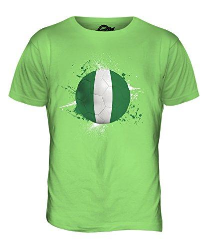 CandyMix Nigeria Fußball Herren T Shirt Limettengrün