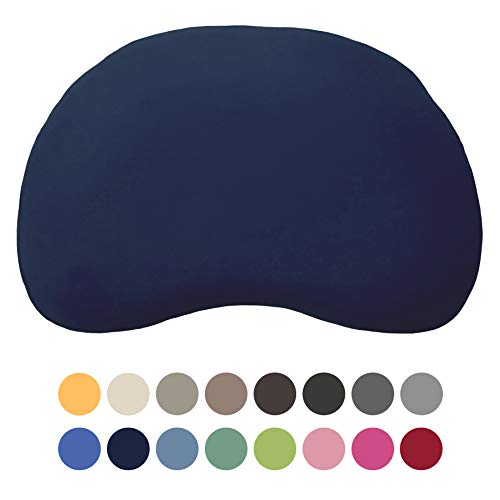 EddaLux Bezug für Tempur Curve S/M Kissen   Kissenbezug mit Marken-Reißverschluss   100{59032a2b6a74aaa0ee2b0a6b7c8dc858c4cd9fe9b595287fcbf93ba8fbb628c4} Baumwolle   Farbe Marine