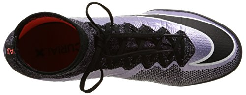 Nike Mercurialx Proximo Tf, Chaussures de Football Homme Morado / Negro / Naranja (Urban Lilac / Black-Bright Mango)