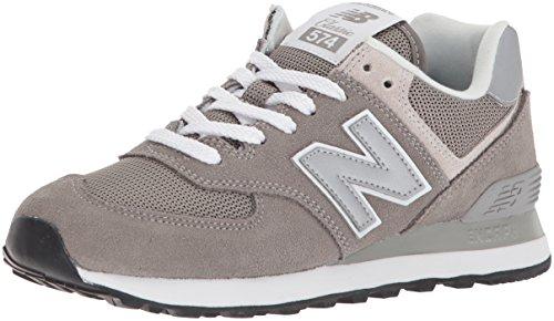 New Balance Damen Wl574EB Sneaker, Grau (Grey), 39 EU (New Balance Grau Laufschuh)