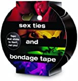 Sex Ties and Bondage Tape - Black