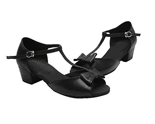 Meninas Sapatos 3 Salto Miyoopark Preto De Centímetros 5 Dançando pwEEqf