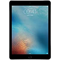 Apple iPad Pro 9.7in 128GB Wi-Fi : Space Grey (Renewed)