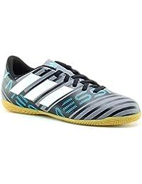 Adidas NEMEZIZ MESSI TANGO 17.4 IN J - Zapatillas de fútbol sala, Unisex Infantil, Gris(GRIS/FTWBLA/NEGBAS)