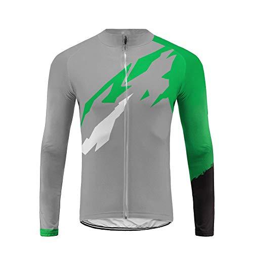 Uglyfrog Herren Lange T-Ärmel Fahrrad Radfahren Jersey Quick Dry Zyklus Fahrradtrikot Hemd Trikot Cycling Bike Shirt 2018 Spring&Autumn