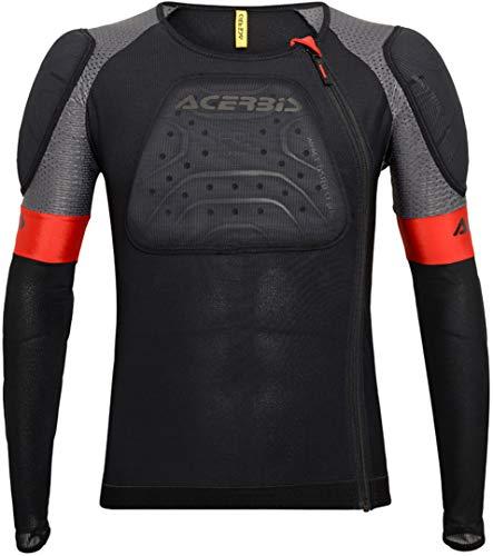 Acerbis 0023292.090.067 Pettorina Body Armour X-Air Jacket L XL, Nero, L-X