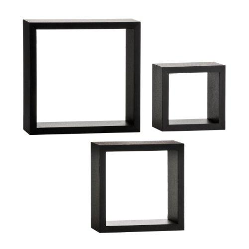 Premier Housewares - Juego de estanterías en Forma de Cubos (3 Unidades)