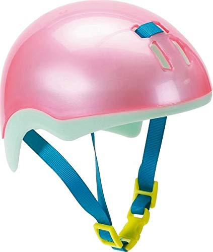 Zapf Creation 827215 Baby Born Play&Fun Fahrradhelm 43cm, rosa, Mint