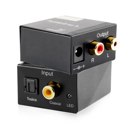 Cablesson? SAP-3 Digital to Analogue Audio Converter - SPDIF - TOSlink / Coaxial to Stereo Left/Right RCA Gefen Digital-audio