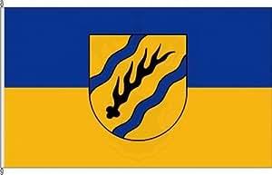 Königsbanner Hissflagge Rems-Murr-Kreis - 150 x 250cm - Flagge und Fahne