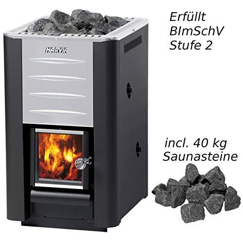 Preisvergleich Produktbild Harvia 20 Boiler Saunaofen 24, 1 kW BImSchV Stufe 2 Holzofen holzbeheizt WK200B