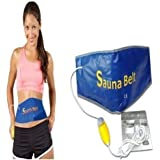 Kumar Retail Smart Sauna Slimming Belt for Weight Loos and Fat Burning for Men and Women,Sauna Belt with Vibration and Heat,Sauna Belt for Belly Fat,Sauna Belt for Weight Loss Women
