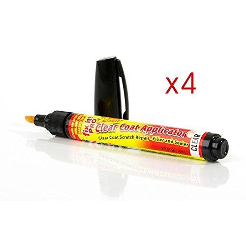 4X Portable Car Scratch Repair Pen Fix It Pro Clear for Simoniz