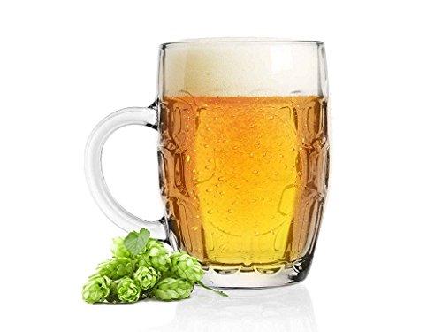 3 bicchieri, modello choper, boccale da birra, tradizionale, 500 ml