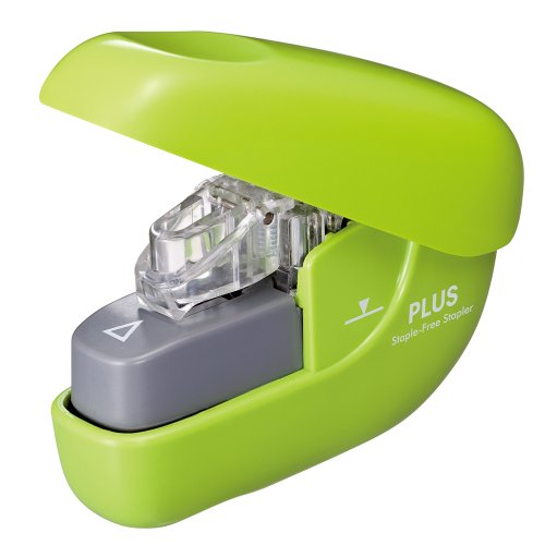 'A needle-less stapler Paper clinch GR SL106N greenx1 '