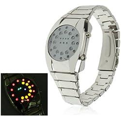 Luxurious LED Uhr Stainless Steel Uhr