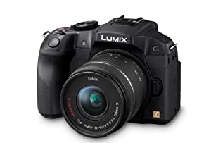 Panasonic DMC-G6KEB-K Digital Compact System Digital Camera with Interchangeable Lens - Black (16MP, 14-42mm Lens) 3 inch LCD
