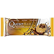 Quest Nutrition Chocolate Peanut Butter Protein Bars - Pack of 12 Protein Bars