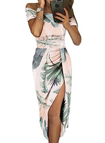 Aleumdr Vestito Donna Senza Spalline Abito Donna Sexy Taglia S XL