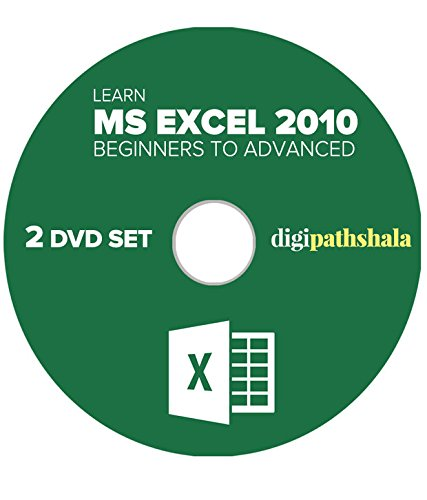 Digi Pathshala Learn Ms Excel 2010 from Beginner to Advanced Level 2 DVD Set (52 Video Lectures, 36 PDF's)