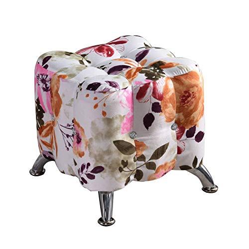 ARKZE Hohe Qualität Polstermöbel Sitzcube Ottomane, Bettwäsche aus Baumwolle Flanell Velvet Abdeckung Multi-funktions Sitz Fußstütze,10