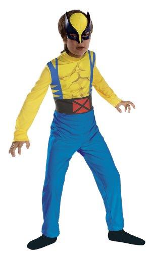 Imagen de marvel  disfraz de lobezno para niño de 3/5 años