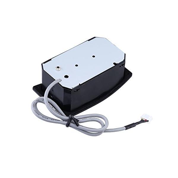 Andoer manico in acero chitarra elettrica 22tasti e tastiera DOT inlay per Fender Strat sostituzione–