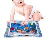 66x50cm Aufblasbare Baby Wasser Spielmatte, Auslaufsicher BPA-frei Wasser Matte Spielzeug Spieldecke Für Baby Säuglinge Und Kleinkinder Kind Interaktives Spielzeug