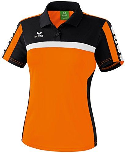 CLASSIC 5-CUBES Poloshirt Orange/Schwarz/Weiß