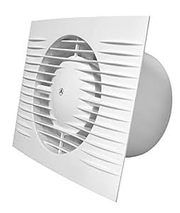 Bianco bagno cucina wc estrattore ventilatore con timer e - Estrattore bagno ...